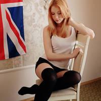 Knee socks by maria-sunshine