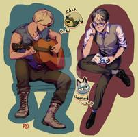 Shep and Raymond by minhzzp