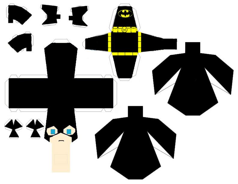 wallpaper craft batman: Batman Papercraft Template By WolfsMoon17 On DeviantArt