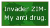 ZIM Stamp by InvaderKyra
