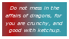 Dragons Stamp by InvaderKyra
