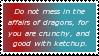 Dragons Stamp by InvaderKyra