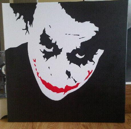 Joker Stencil By Verybadthing On Deviantart