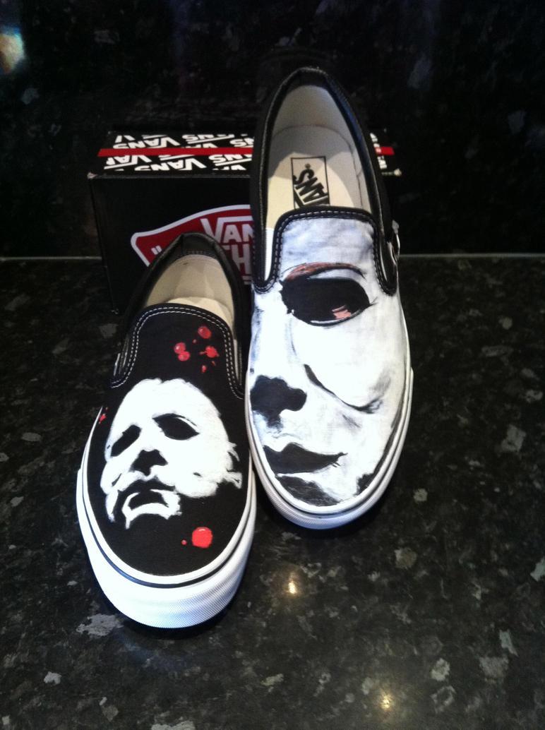 Michael Myers Vans Shoes
