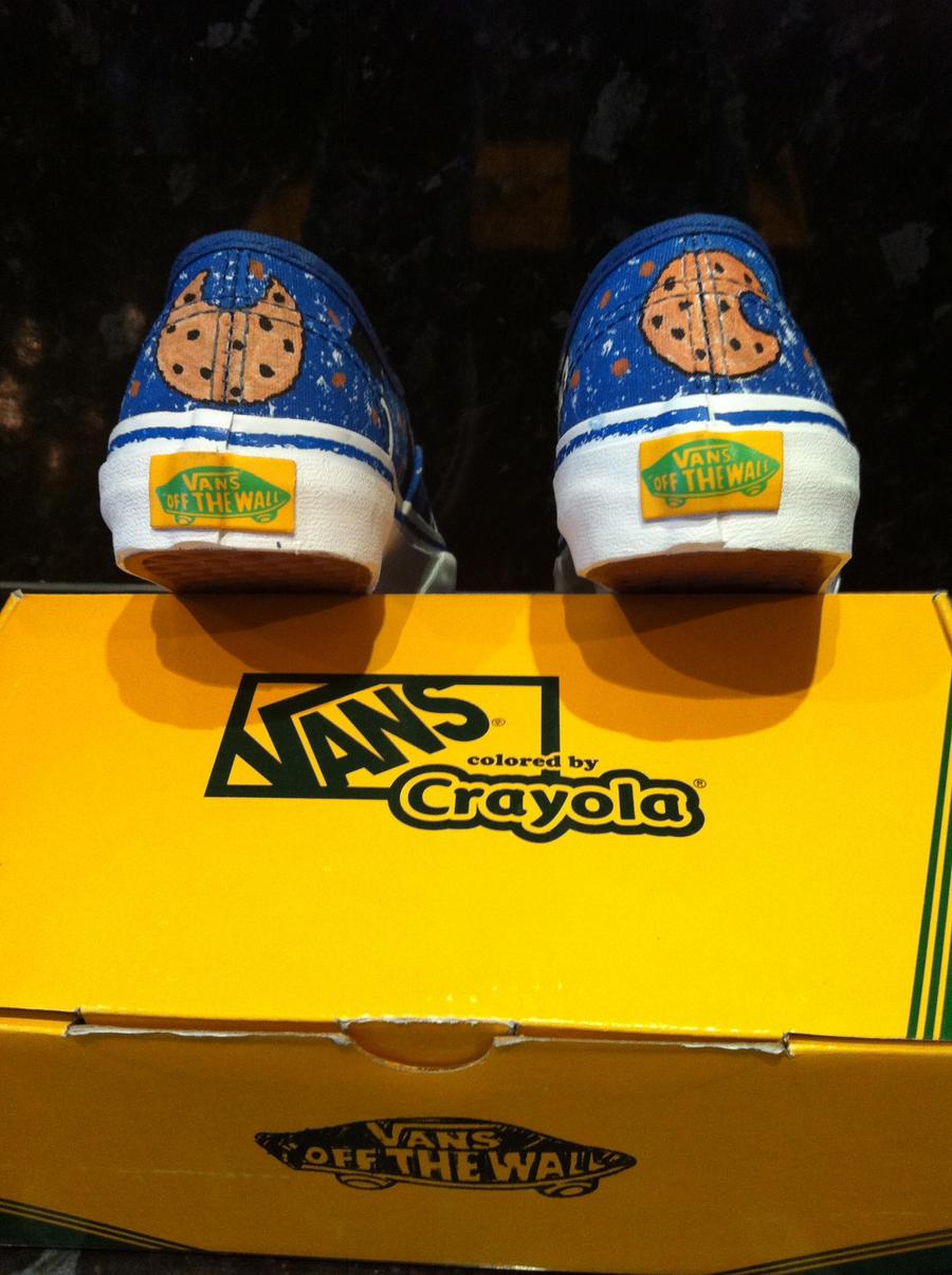 Crayola Vans Shoes
