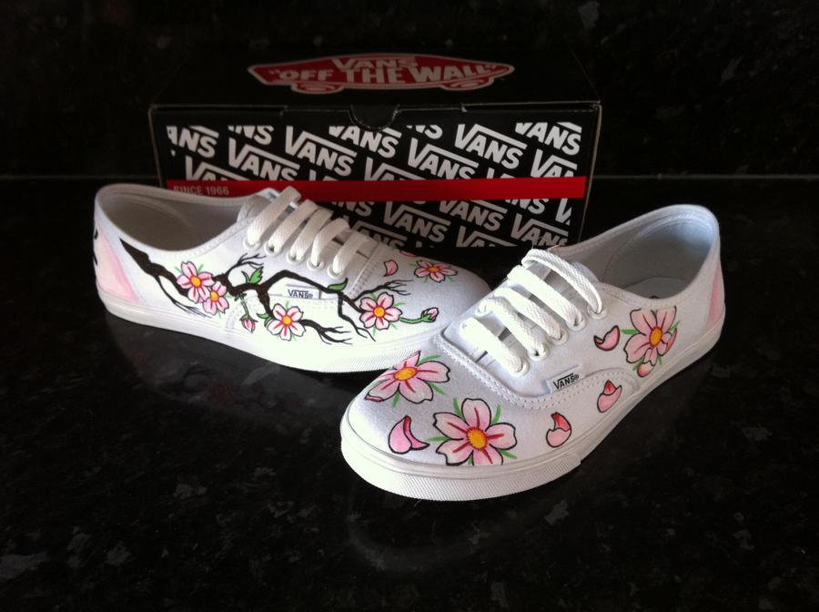 cherry blossom vans
