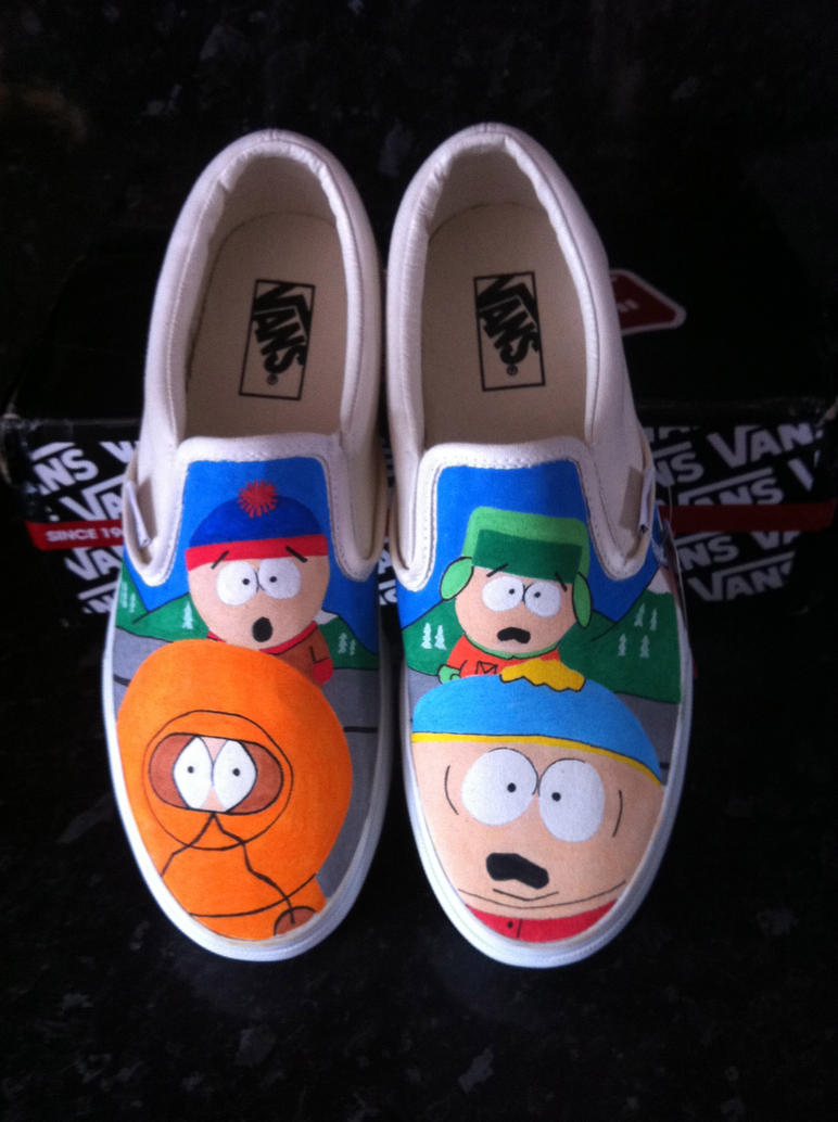 South Park Vans By VeryBadThing