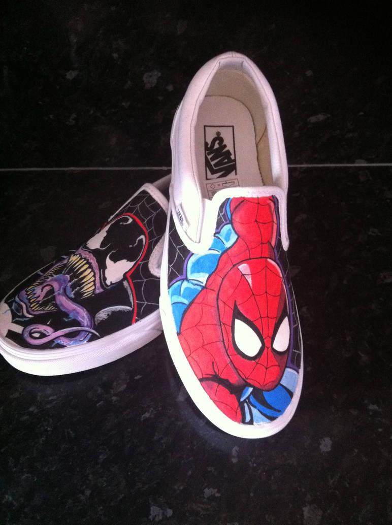 00af185c2655af Spiderman Venom Vans 3 by VeryBadThing on DeviantArt