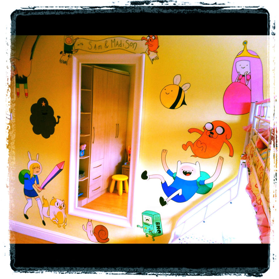 Adventure Time Wall Mural Full by VeryBadThing on DeviantArt