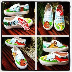 Gruffalo Vans by VeryBadThing