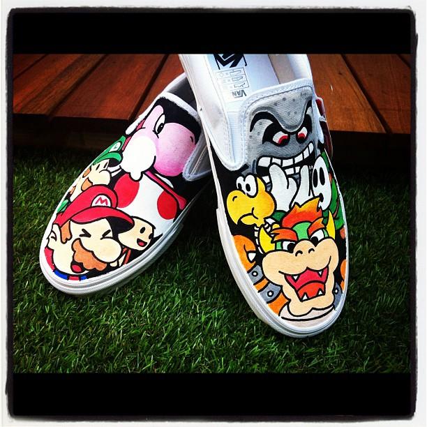 Paper Mario Vans MK 2 by VeryBadThing