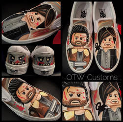 Lego The Walking Dead Custom Vans
