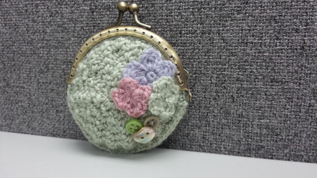 Coin Purse Crochet Free Pattern : Crochet Coin Purse by byrubyru on DeviantArt