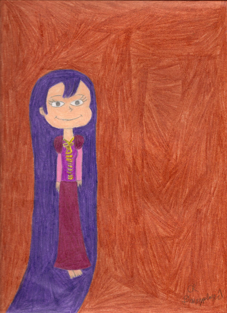 Kimi as Rapunzel by daisyplayer1