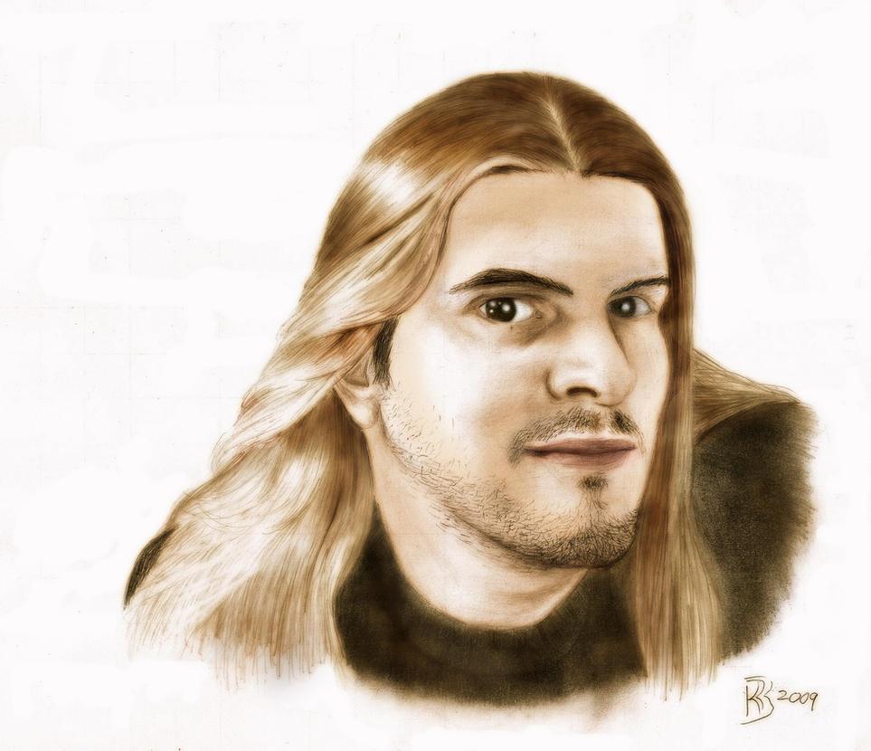 Colour Self Portrait by BraveSirKevin