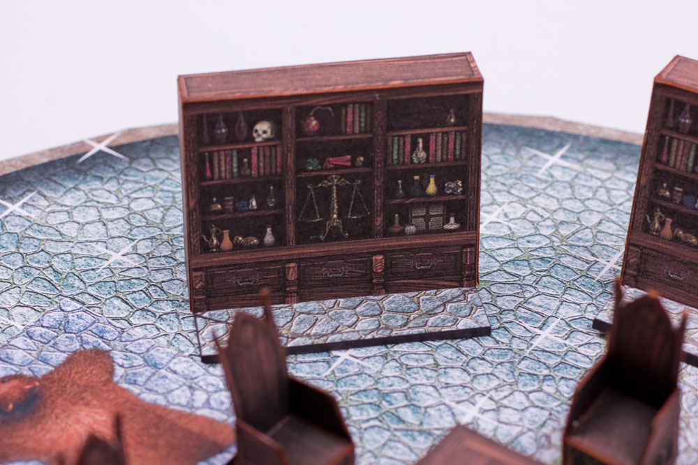 Papercraft scenery: Shelf by BraveSirKevin