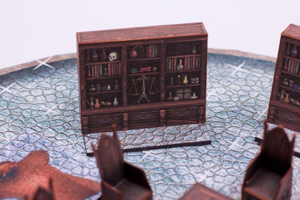 Papercraft scenery: Shelf by BraveSirKevin