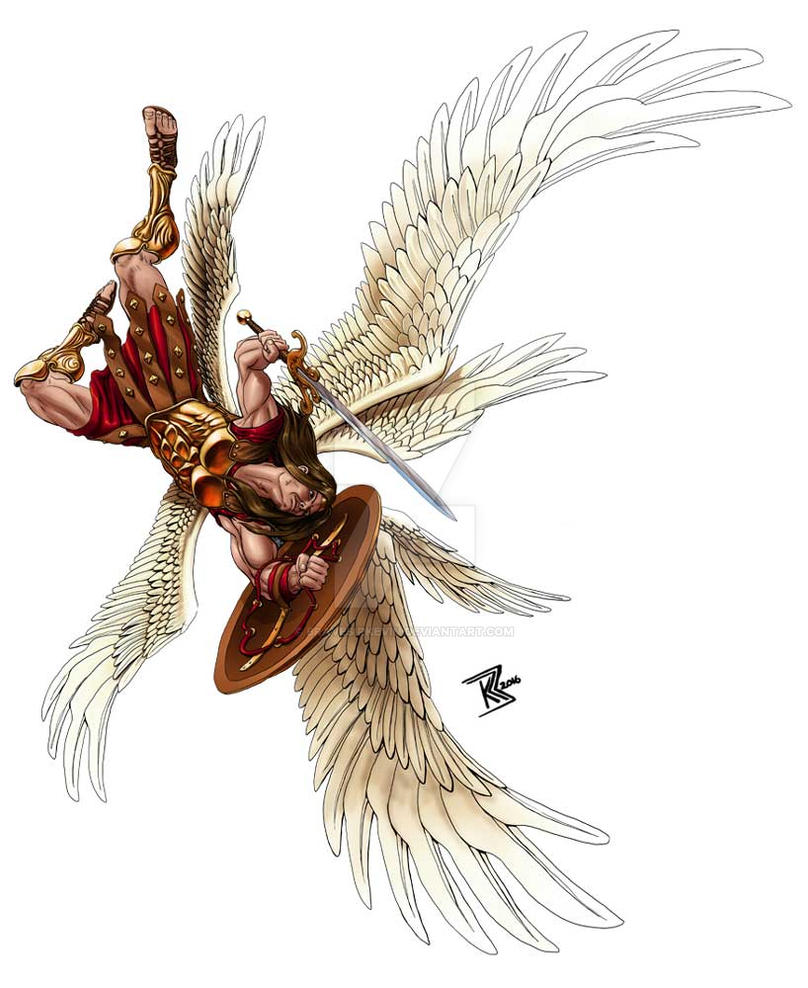 Swooping Archangel by BraveSirKevin