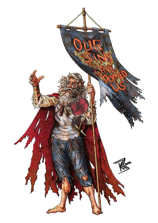 Prophet of Doom by BraveSirKevin