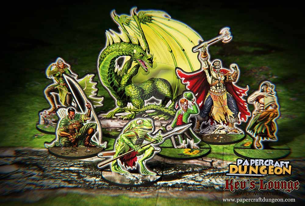 Into the Wilds paper minis by BraveSirKevin