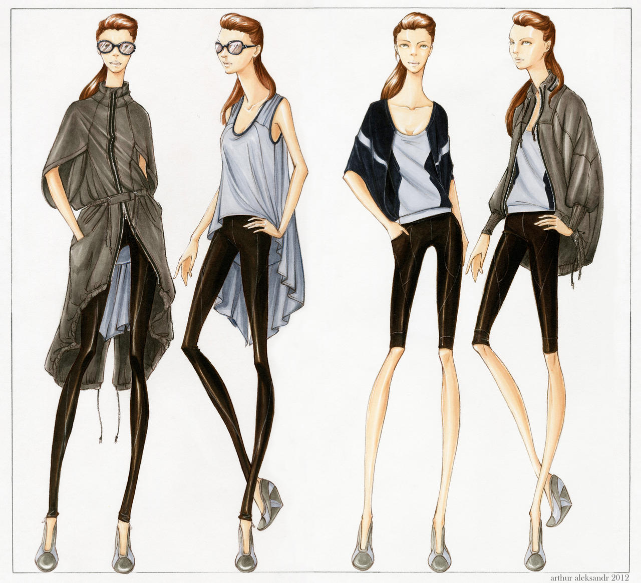 Fashion Illustration Gallery Cork Street