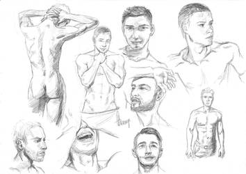 Male study by Arineange