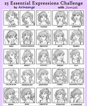 Juniel - 25 Essential Expressions Challenge
