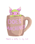 Theres a Kitty in my Cup
