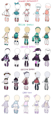 OUT || custom outfit batch 01