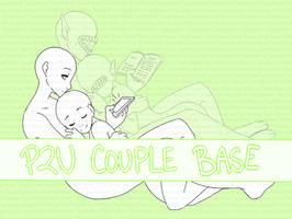 P2U    Couple Base by Tenshilove