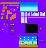World 1 MLSS Style by PxlCobit