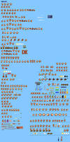 MLSS Donkey Kong Sprites Sheet by PxlCobit