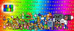 Super Mario Fan Art by PxlCobit