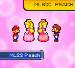 MLSS MLBIS Princess Peach Preview. by PxlCobit