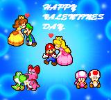 Super Mario Valentines Day by PxlCobit