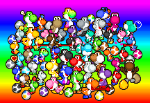 Easter Yoshi Egg by PxlCobit
