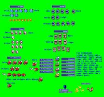MLSS SM3DL Enemies Sprites Sheet by PxlCobit