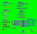 MLSS SM3DL Enemies Sprites Sheet