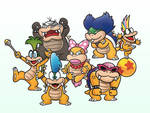 The Koopalings 2D
