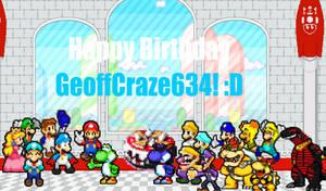 GeoffCraze634's Birthday Gift.