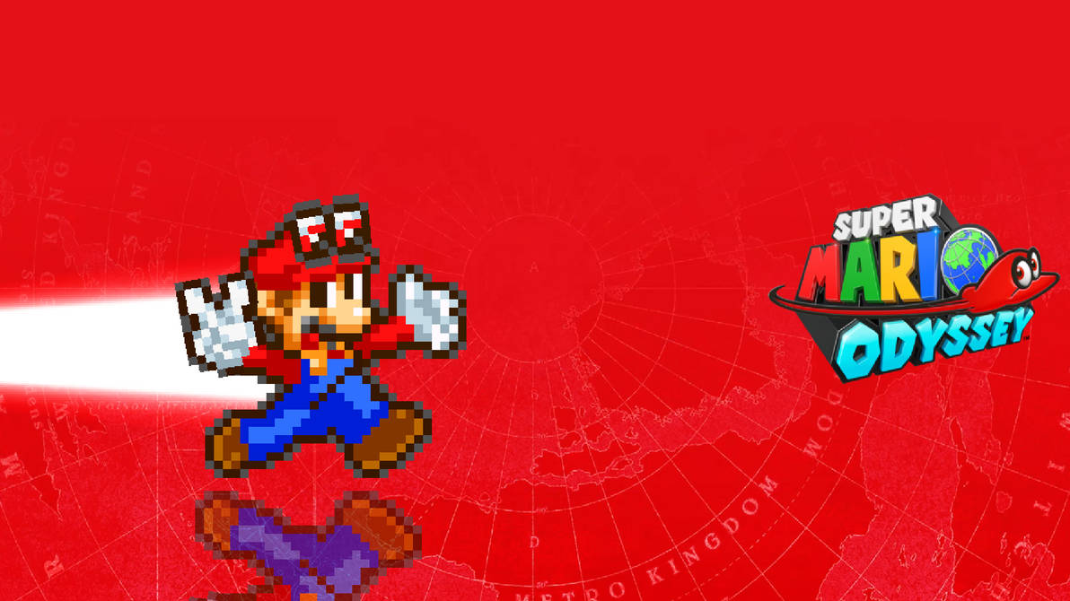 Super Mario Odyssey Wallpaper By Drizzlyscroll1996 On