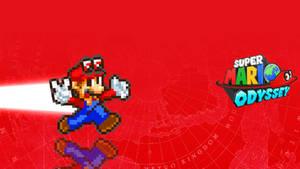 Super Mario Odyssey Wallpaper.