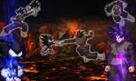 Dark Sonic VS Black Goku.