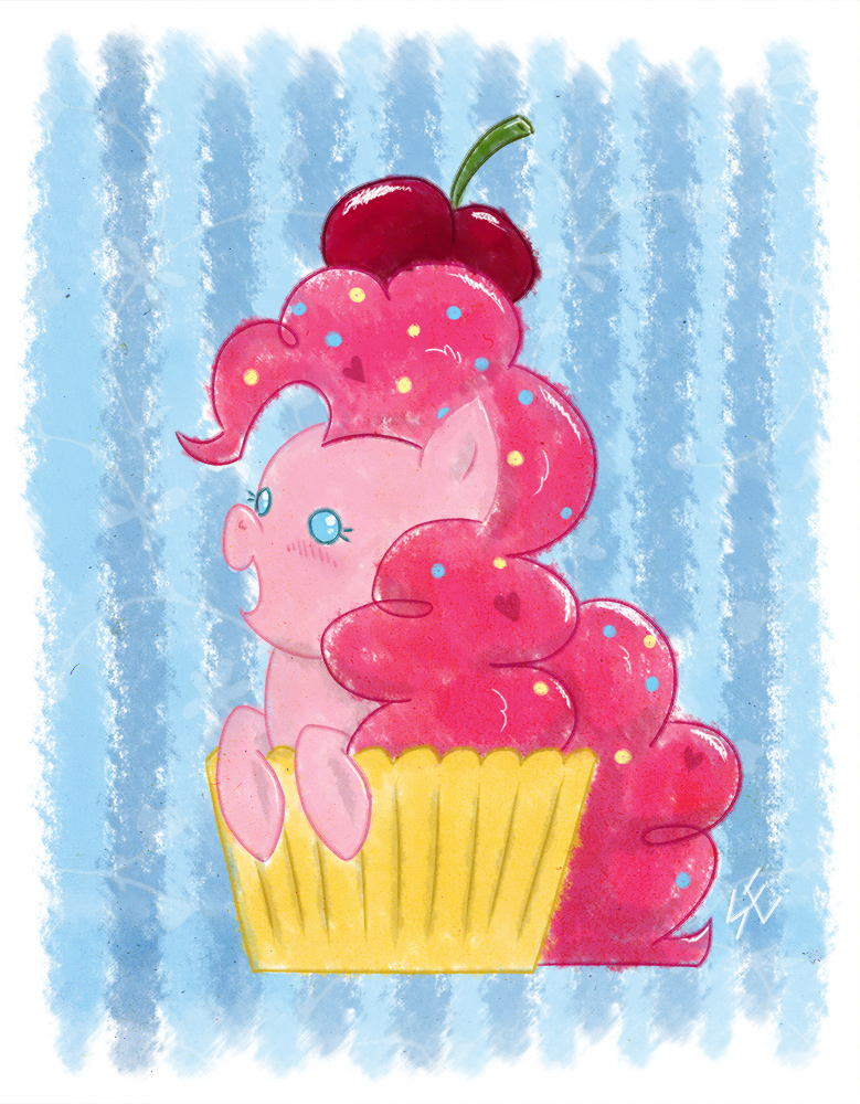Pinkie Cupcake by erysz