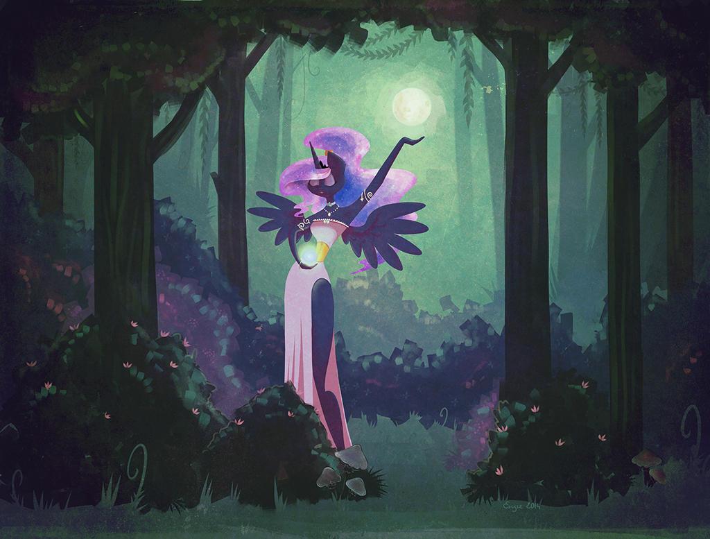 Moon Priestess by erysz