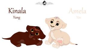Sister twins Kinala and Amela ( Yin and Yang )