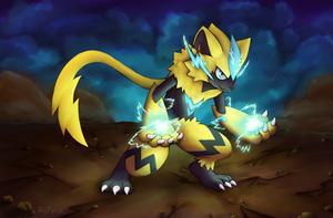 The electric kitty - Zeraora