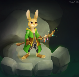 Rabbit Geomancer