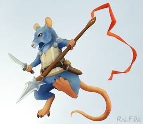 Rodentia Lancer by RaLFFyKung