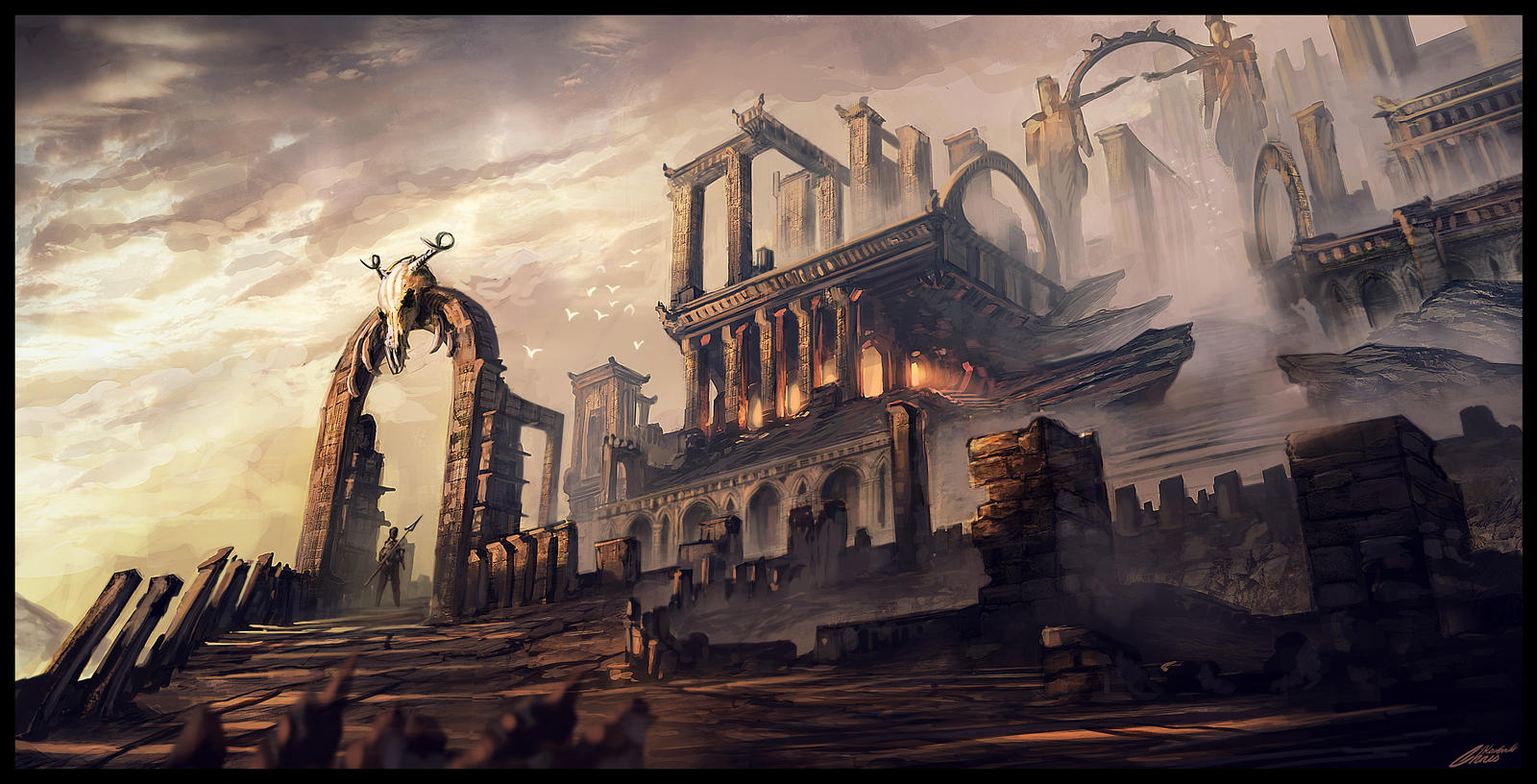Mystical Ruins by Chris-Karbach